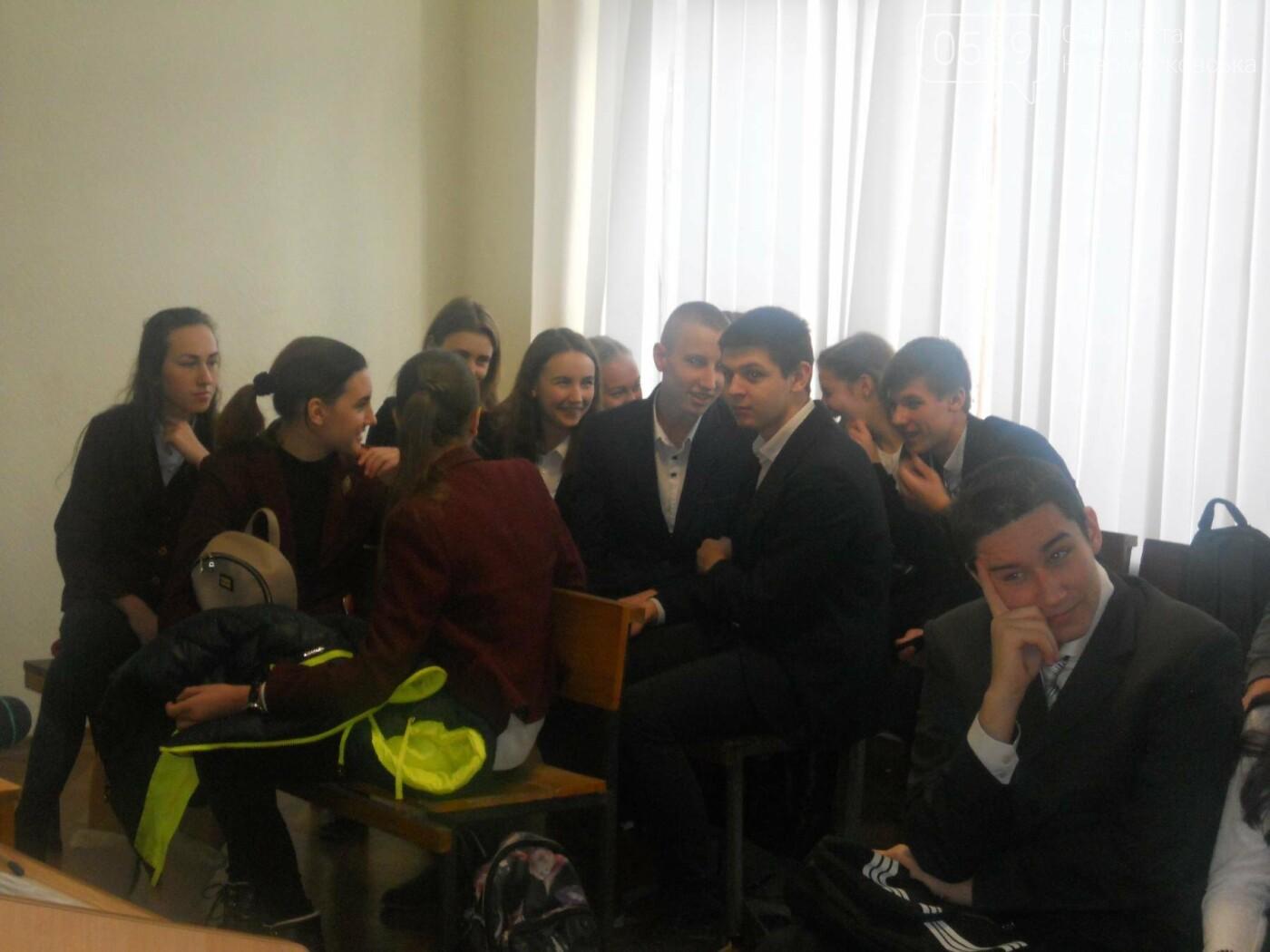 В Новомосковському суді вітали незвичайних гостей, фото-14