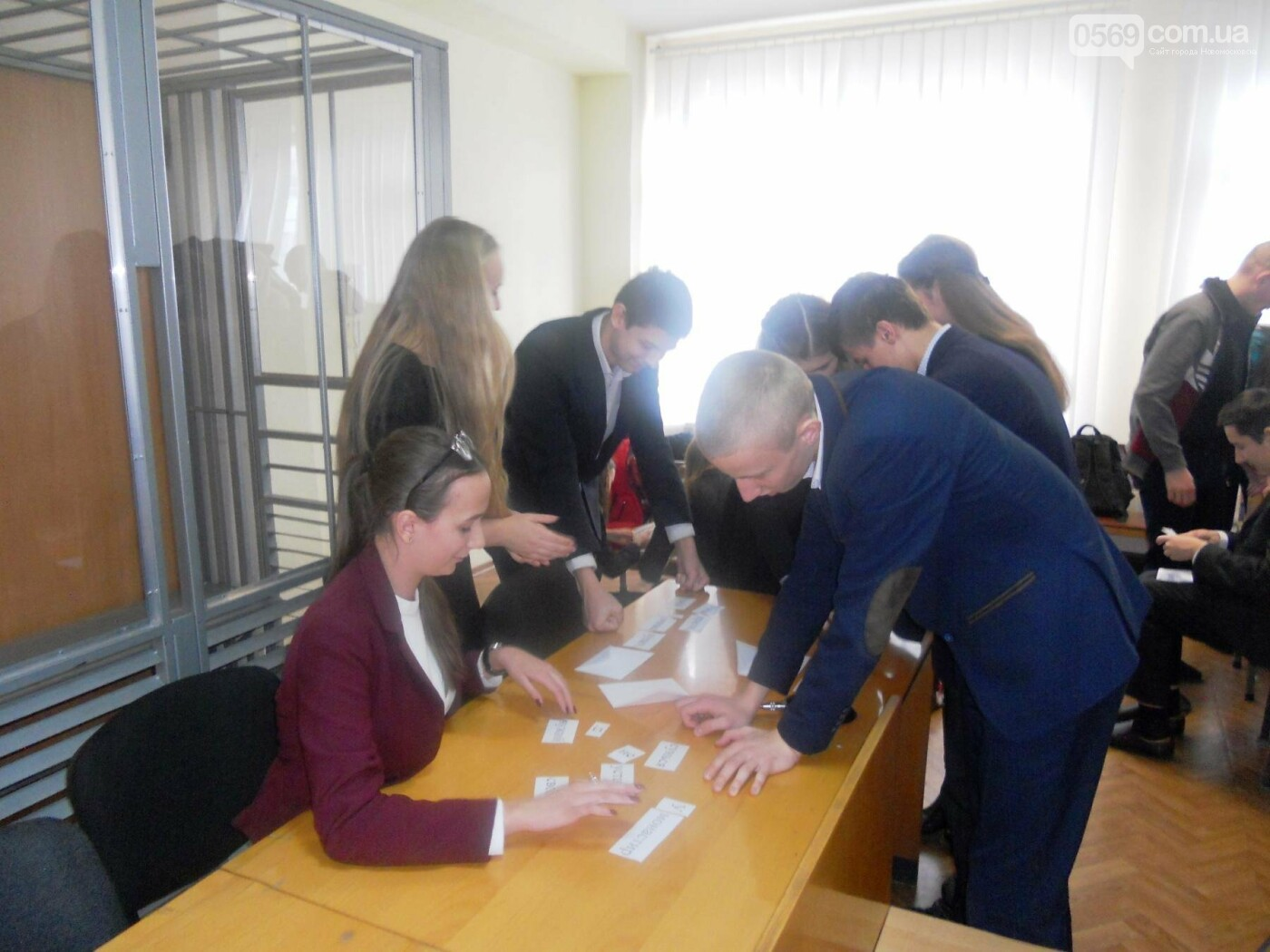В Новомосковському суді вітали незвичайних гостей, фото-4
