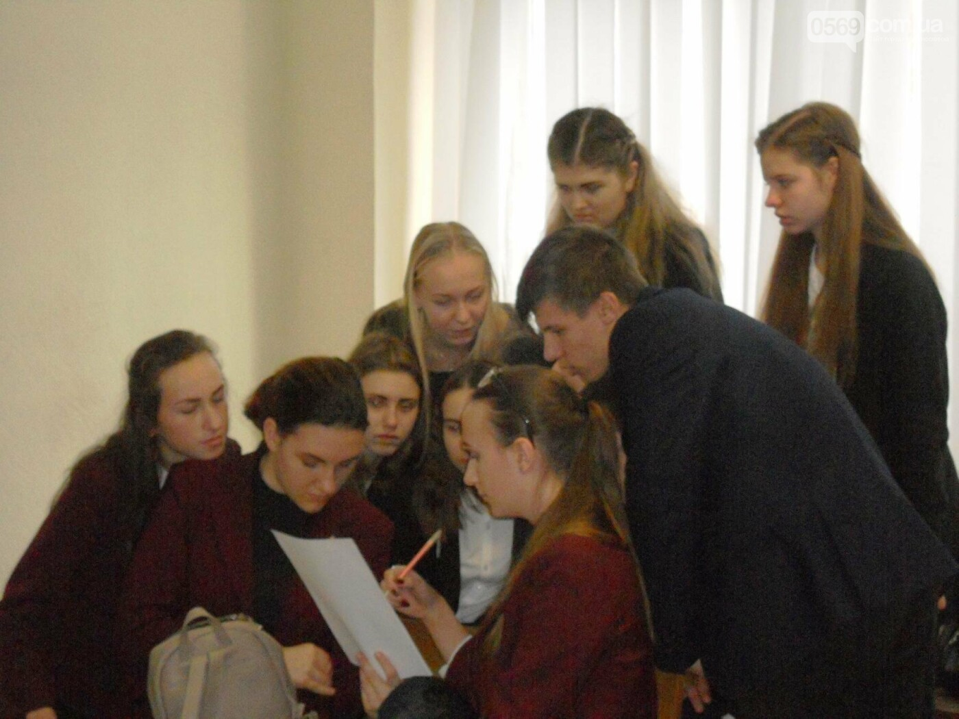 В Новомосковському суді вітали незвичайних гостей, фото-13