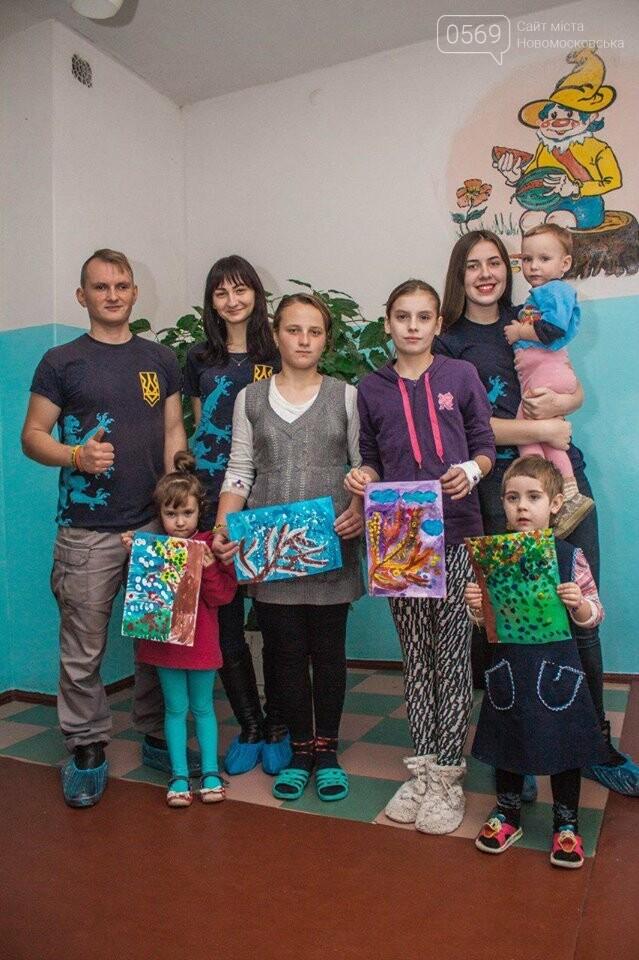 В Новомосковській районній лікарні відбувся сеанс арт-терапії, фото-1
