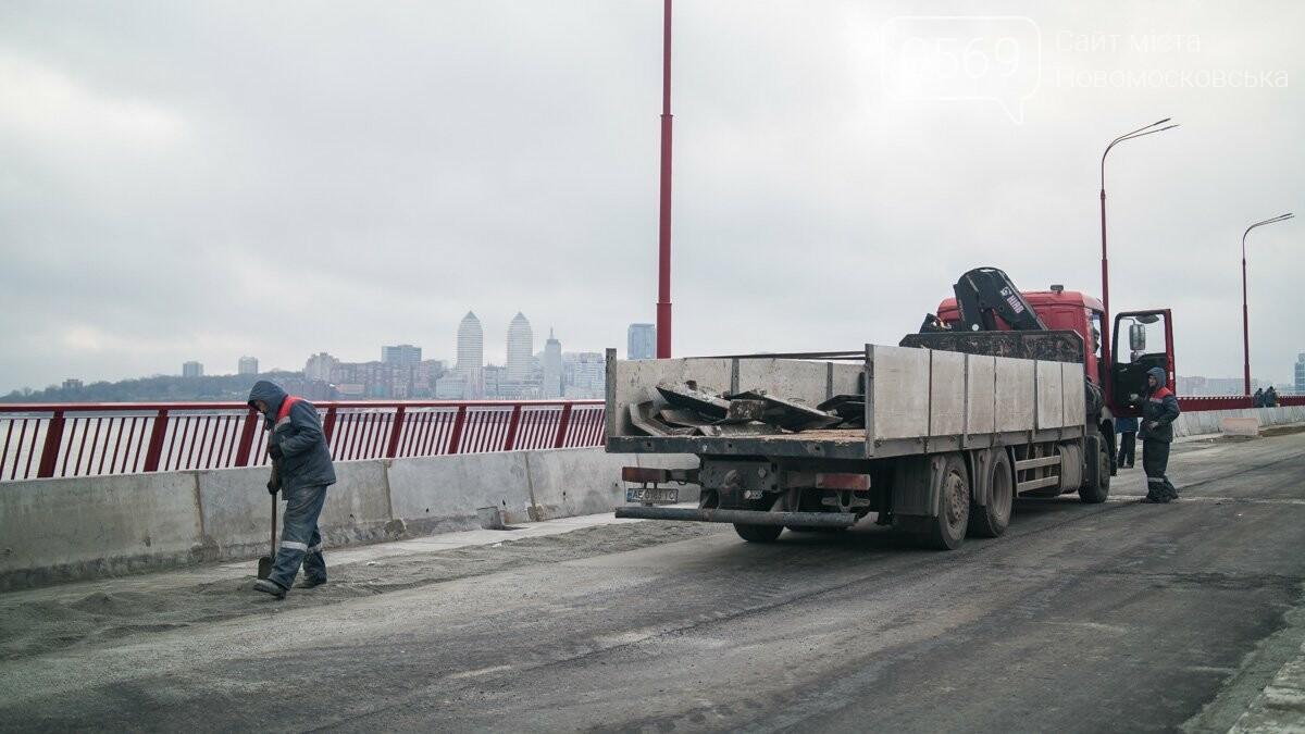 Последние штрихи: Новый мост в Днепре готовят к открытию, фото-3