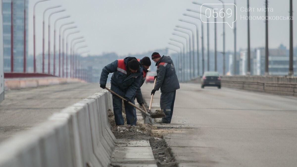 Последние штрихи: Новый мост в Днепре готовят к открытию, фото-2