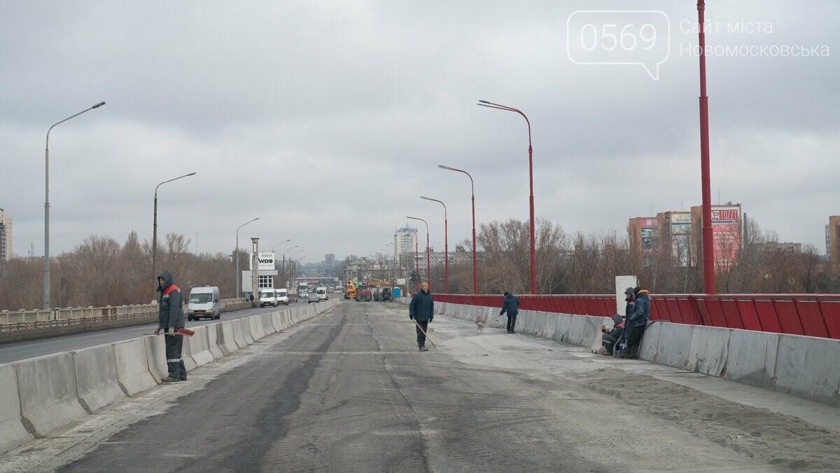 Последние штрихи: Новый мост в Днепре готовят к открытию, фото-4
