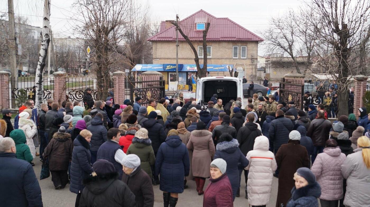 На Дніпропетровщині попрощалися з 24-річним героєм АТО Андрієм Борисенко, фото-14