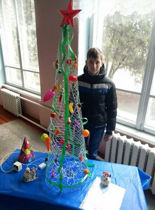 Новомосковські студенти запропонували альтернативу традиційним ялинкам, фото-2