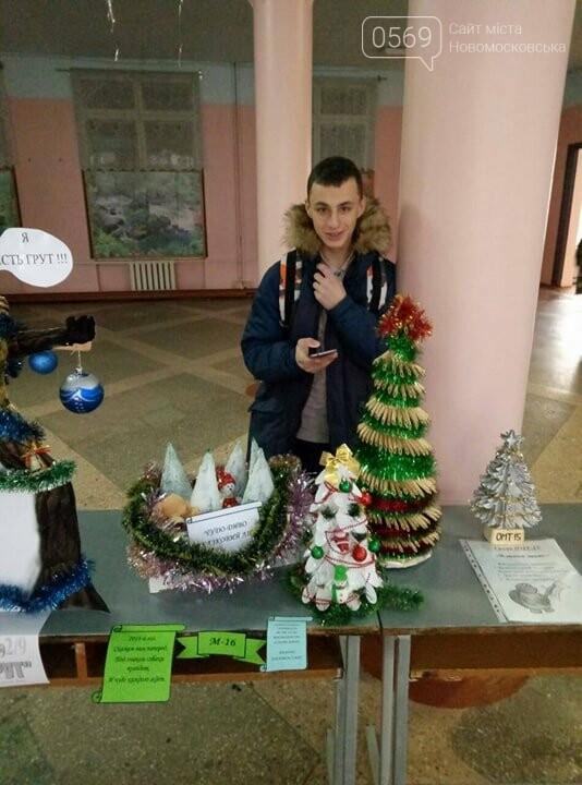 Новомосковські студенти запропонували альтернативу традиційним ялинкам, фото-3