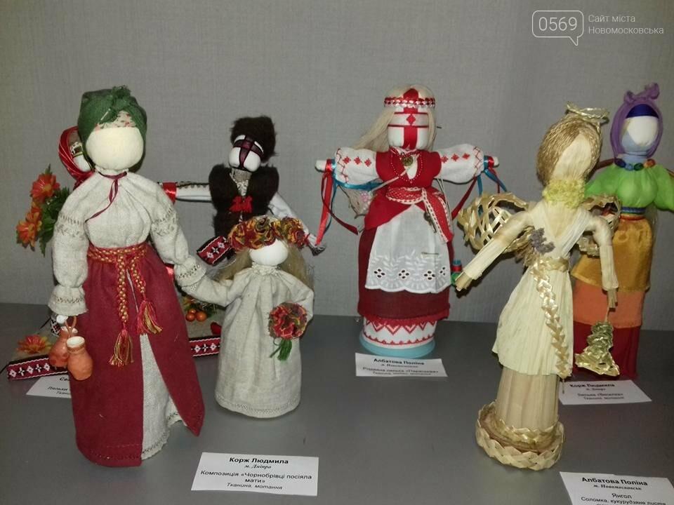 Новомосковська майстриня представила свої вироби на всеукраїнській виставці, фото-1