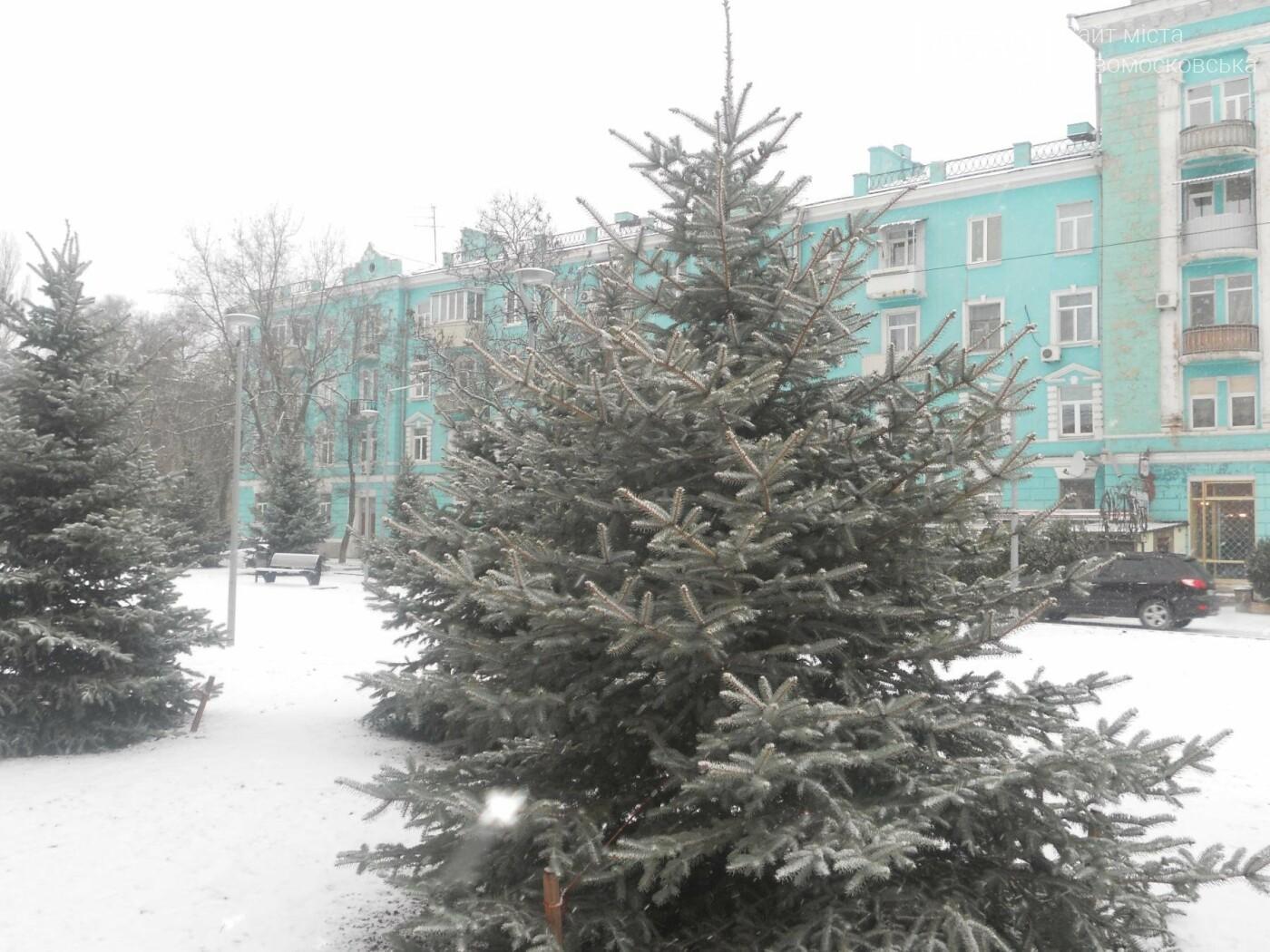 Новомосковськ знову засніжило, фото-3