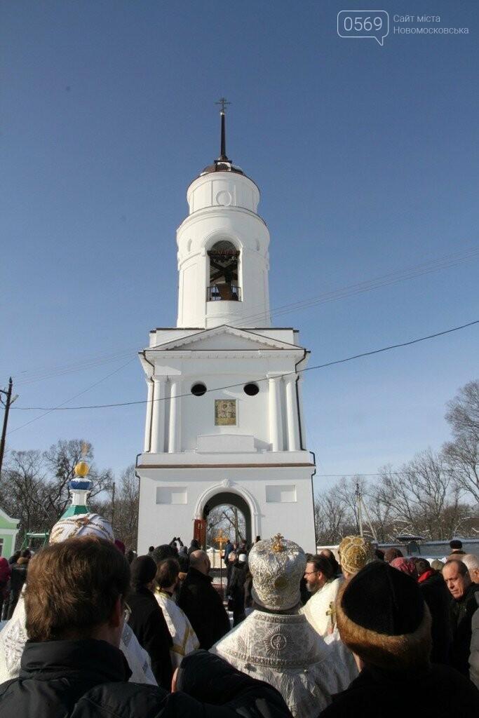 В Самарском монастыре зазвонили колокола новой колокольни, фото-1