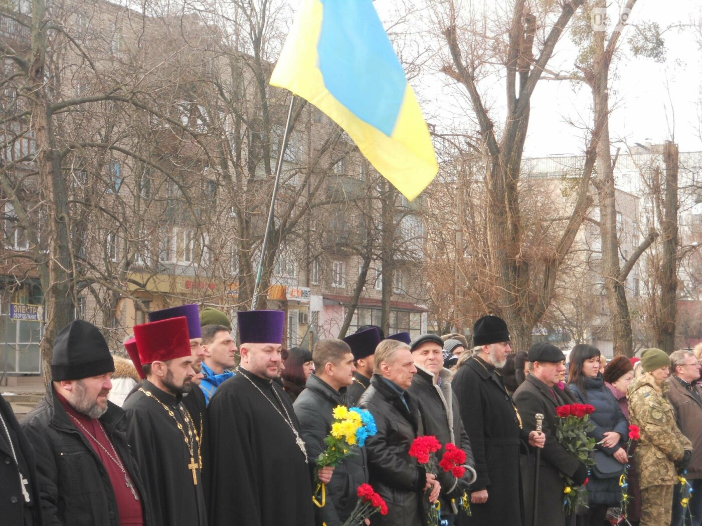 В Новомосковську вшанували пам'ять Небесної Сотні, фото-5