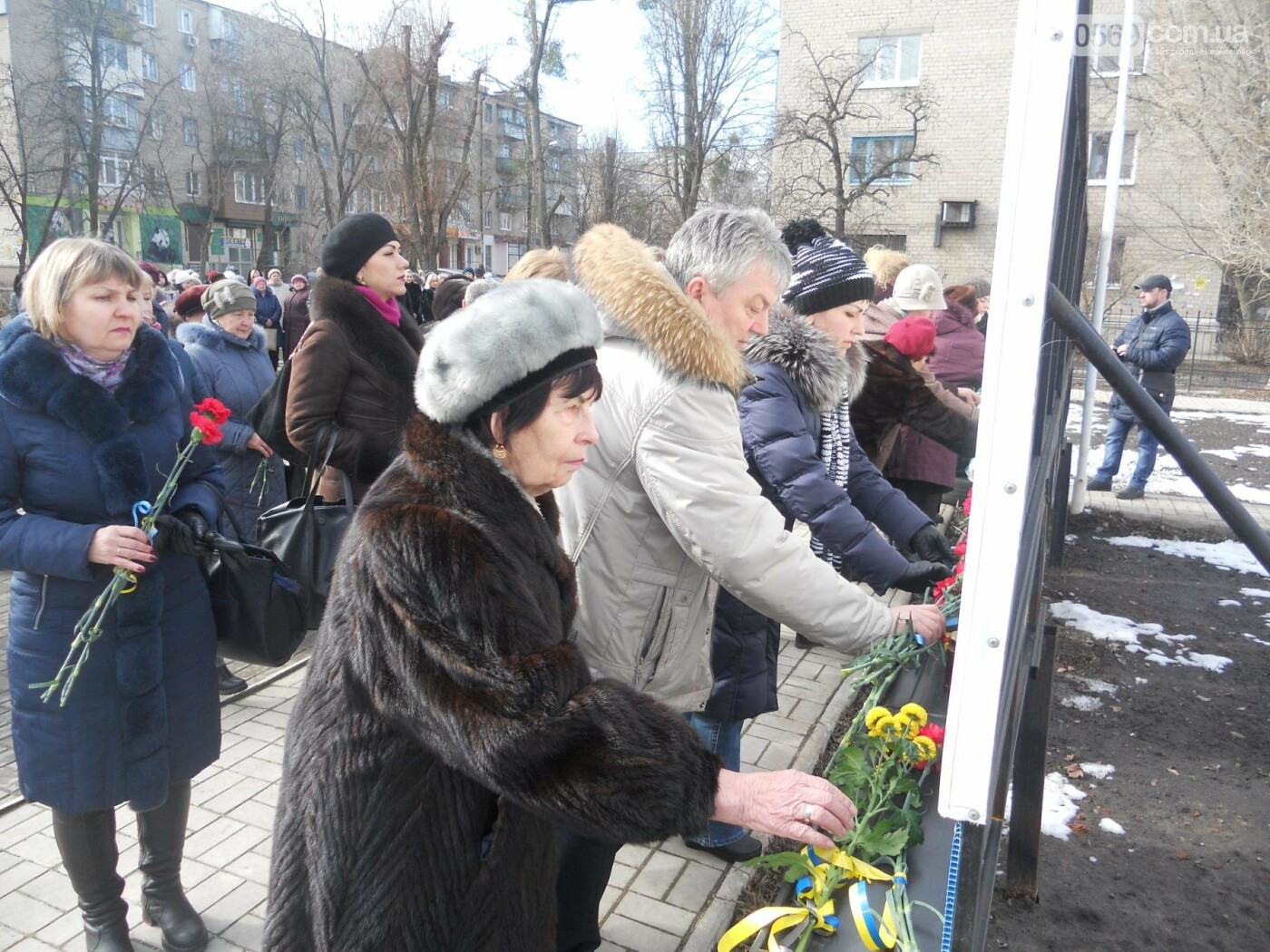 В Новомосковську вшанували пам'ять Небесної Сотні, фото-10