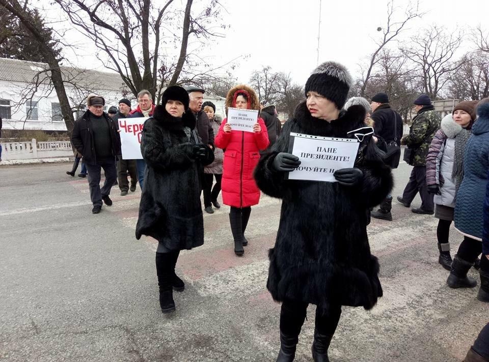 В Черкаській ОТГ не призначили вибори: мешканці перекрили трасу, фото-4