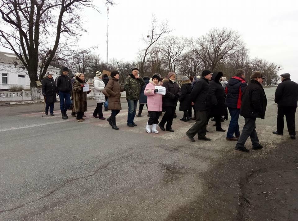 В Черкаській ОТГ не призначили вибори: мешканці перекрили трасу, фото-1