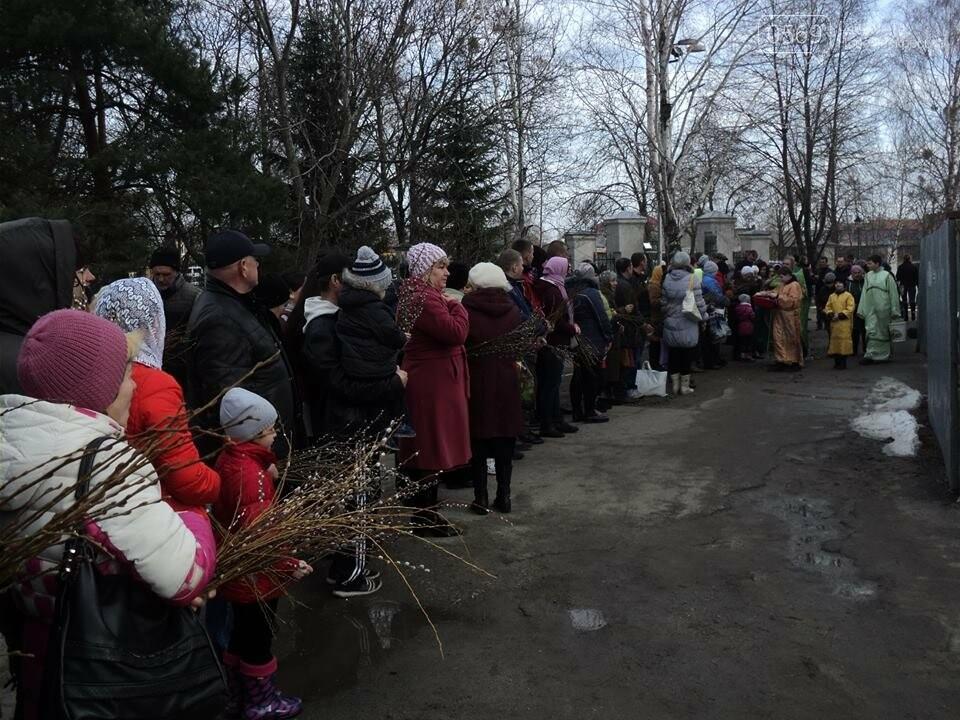 Як у Новомосковську вербу святили, фото-5