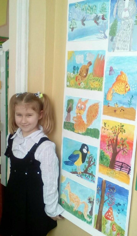 В Новомосковську відкрилася персональна виставка юної художниці, фото-1