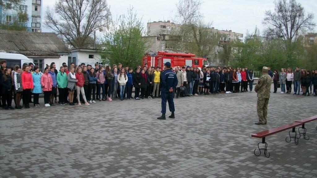 З Новомосковського ліцею евакуювали дітей, фото-3