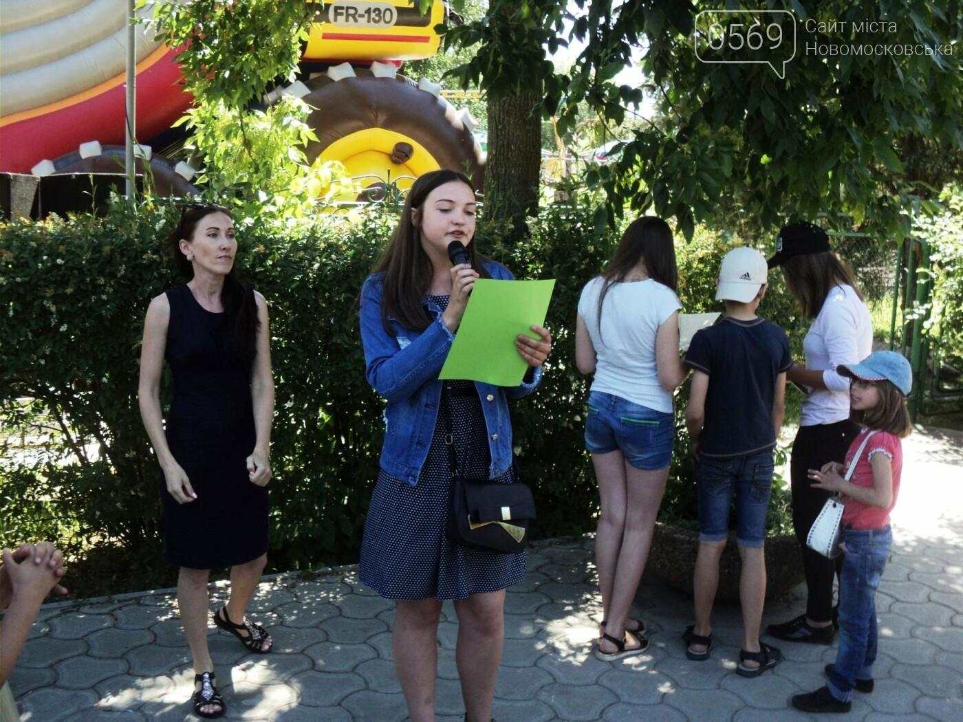 В Новомосковську пройшов конкурс дитячого караоке, фото-3