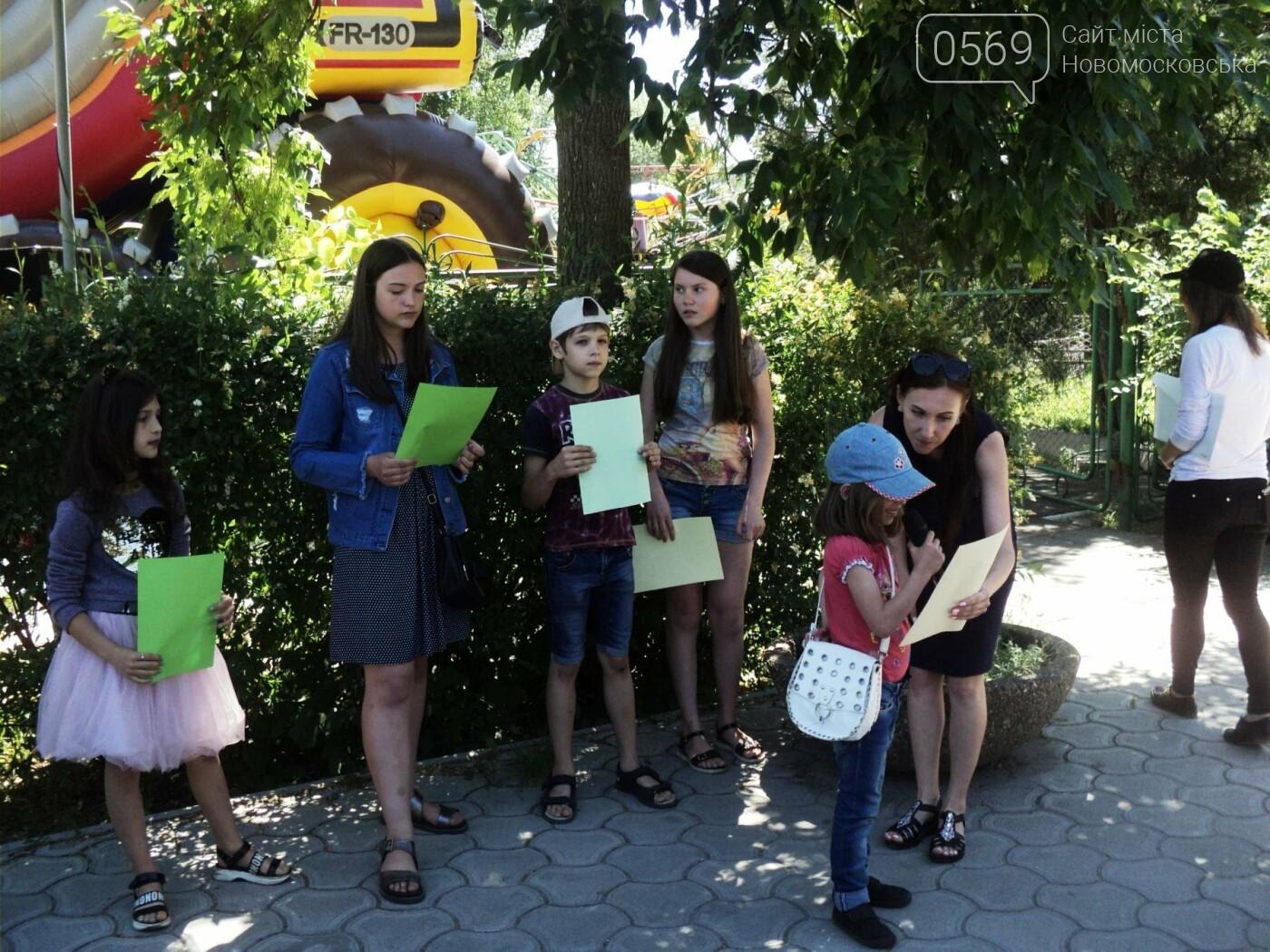 В Новомосковську пройшов конкурс дитячого караоке, фото-4