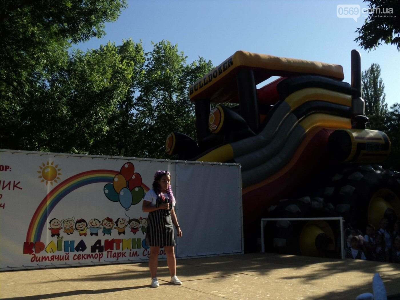 Юні артисти Новомосковська влаштували яскравий концерт до Міжнародного дня захисту дітей, фото-11