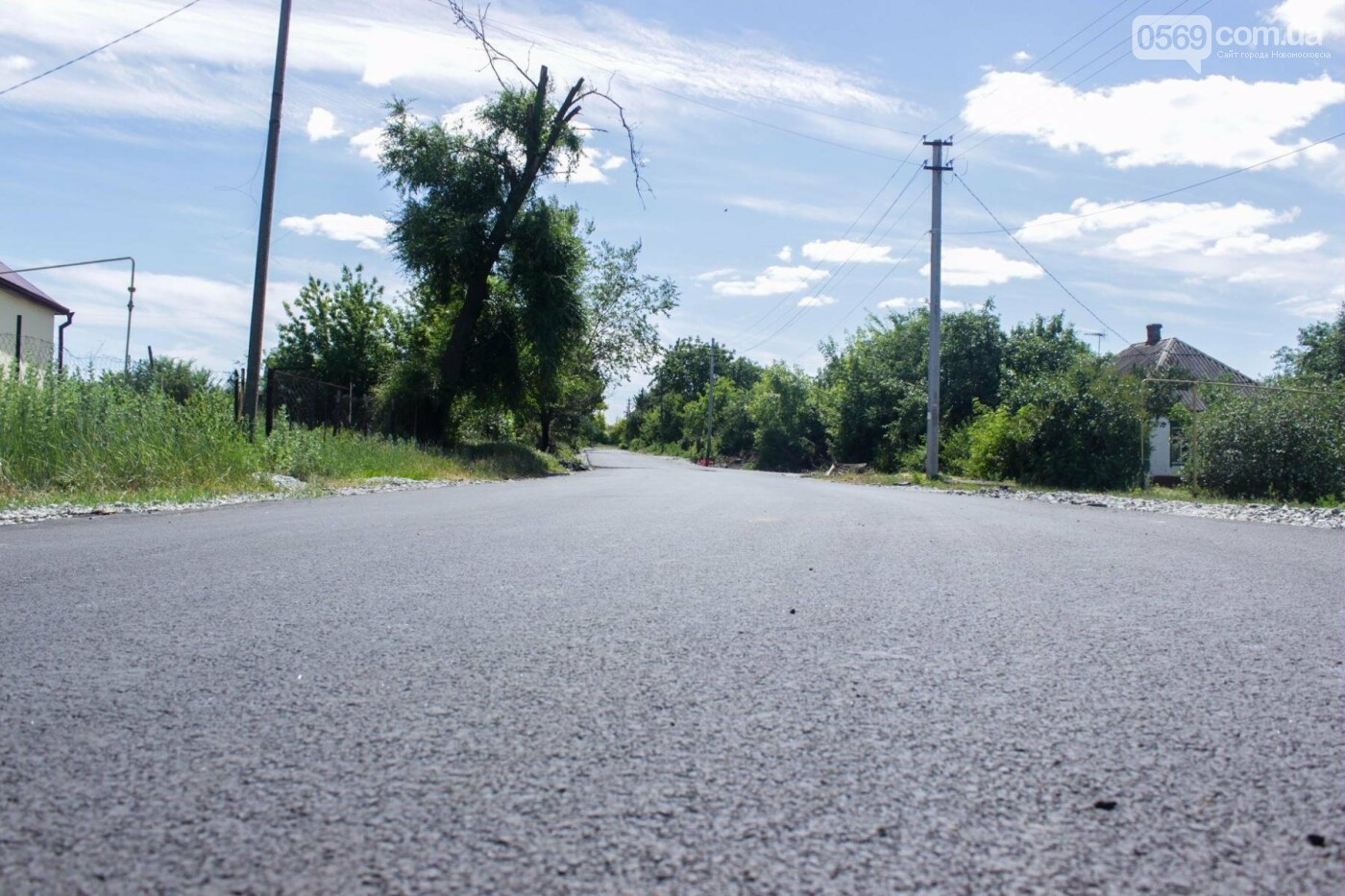 В селе на Новомосковщине отремонтировали две дороги, фото-7
