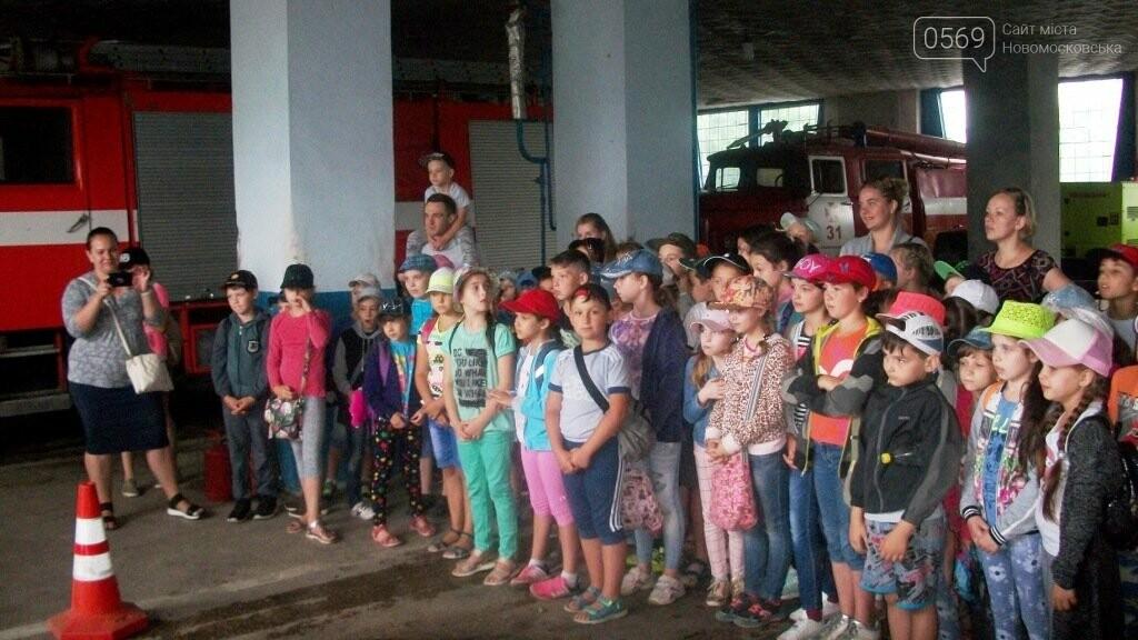 Новомосковські школярі спробували себе в ролі рятувальників, фото-3
