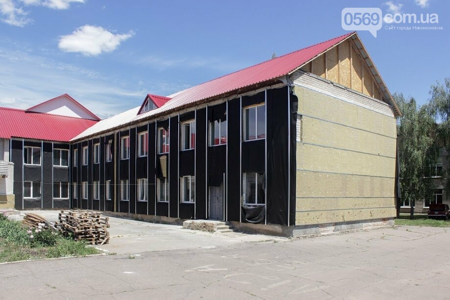 У Миколаївці Новомосковського району продовжують реконструкцію школи, фото-1
