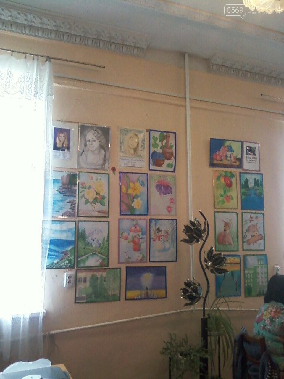 В Новомосковську відкрилась художня виставка, фото-2