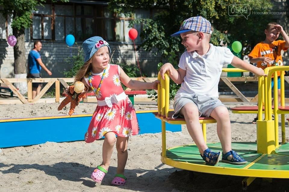 В Новомосковске открыли современную детскую площадку, фото-3