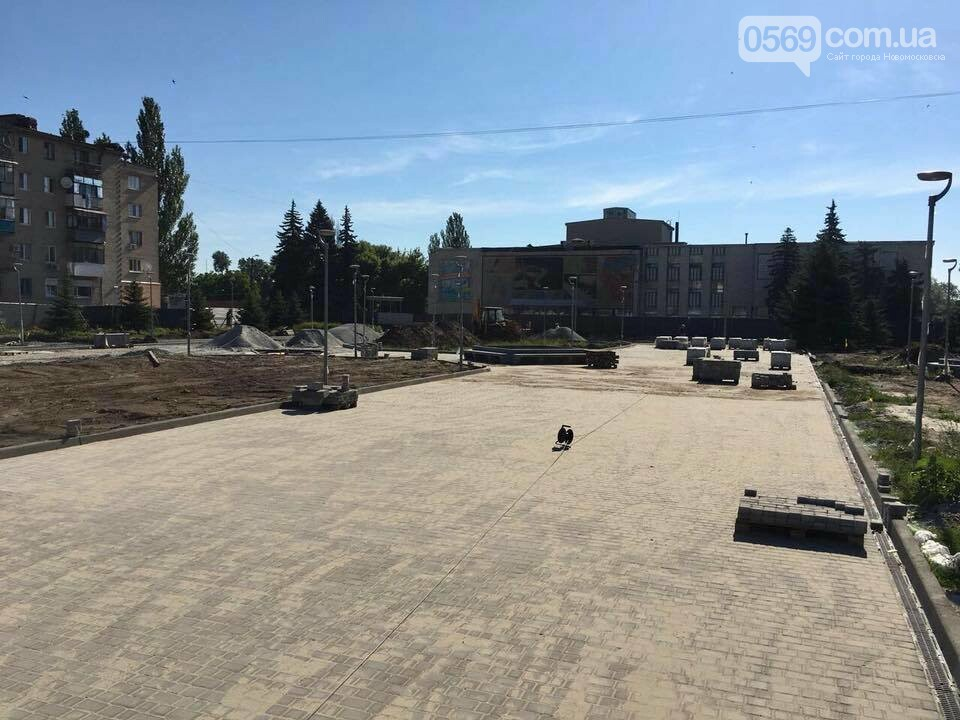 На площі Героїв у Новомосковську стане зеленіше, фото-1