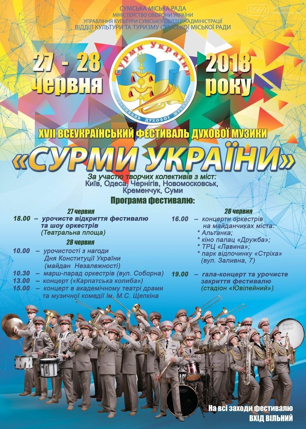 Оркестр з Новомосковська виступить на найбільшому  фестивалі військової музики України, фото-1