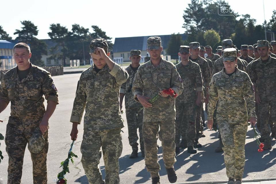 Десантники 25-ї бригади вшанували пам'ять загиблих побратимів, фото-1