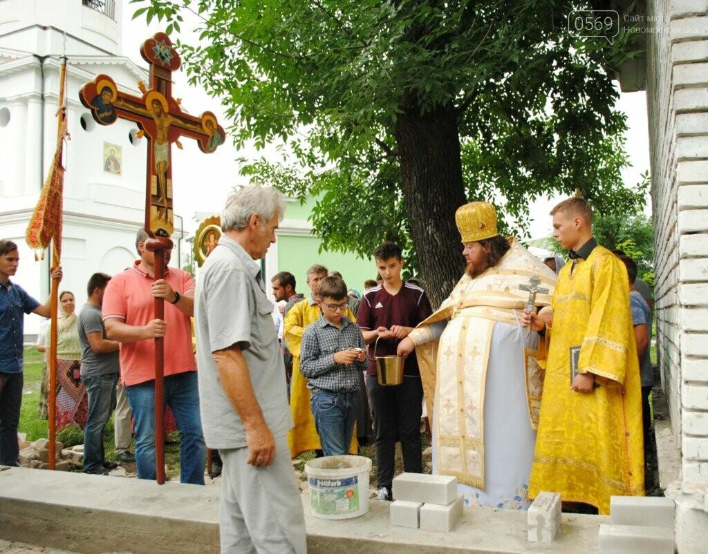 На Новомосковщине в ограду монастыря заложили послание для потомков, фото-2
