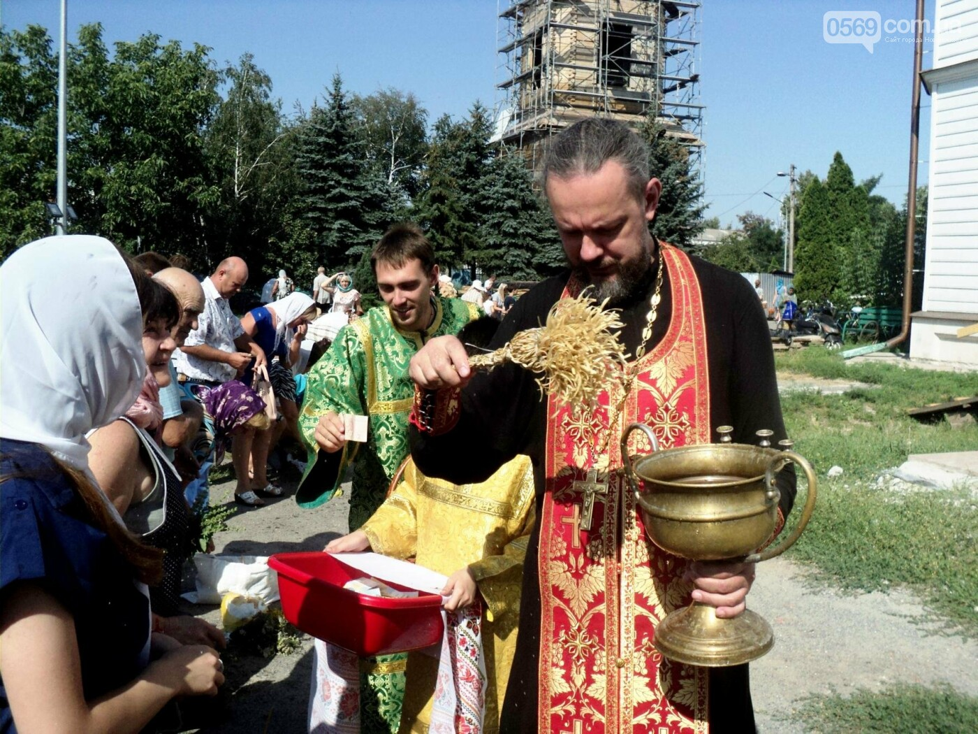 Новомосковці відсвяткували Медовий Спас, фото-2