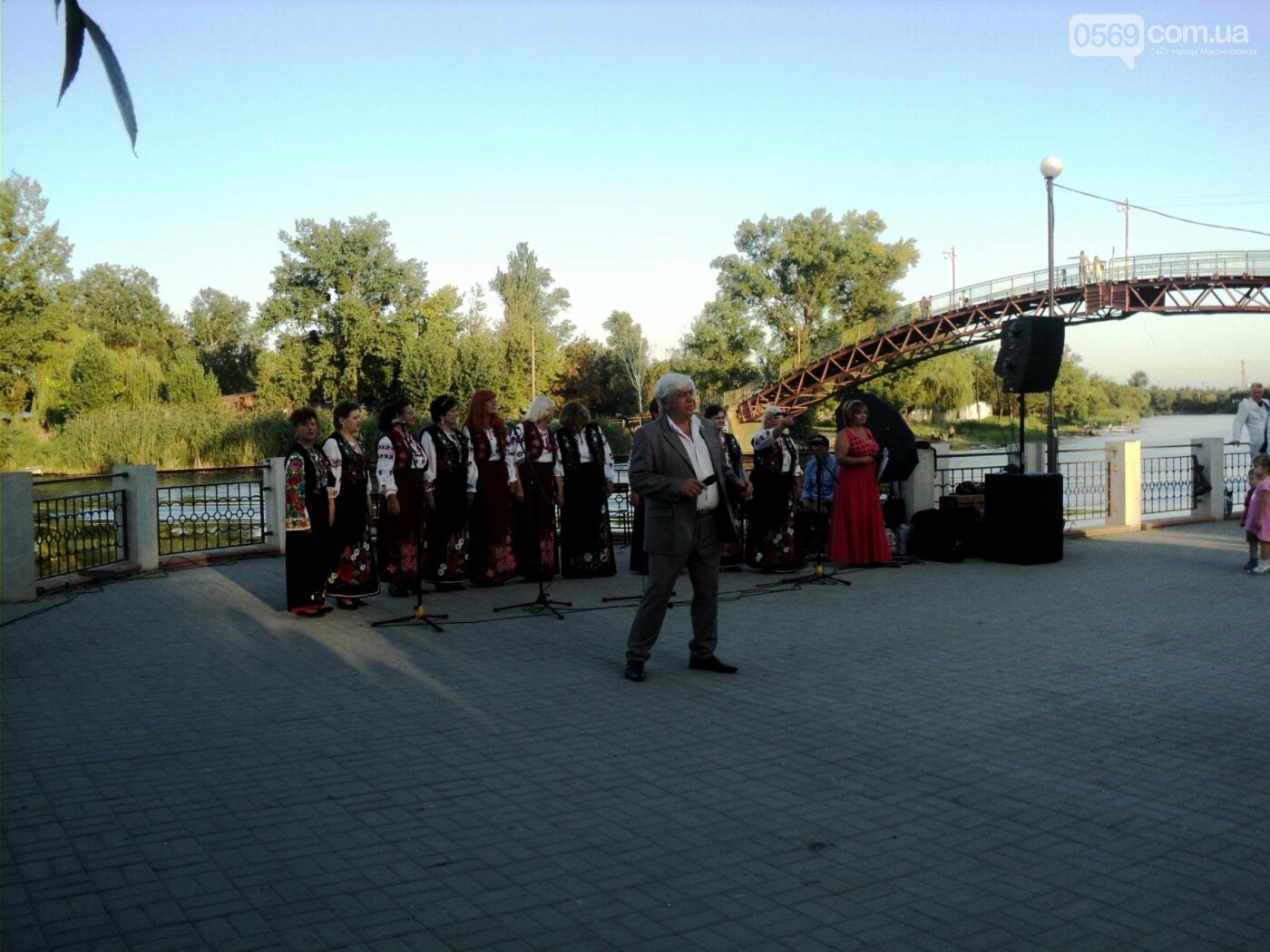 Новомосковці відсвяткували День Незалежності, фото-1