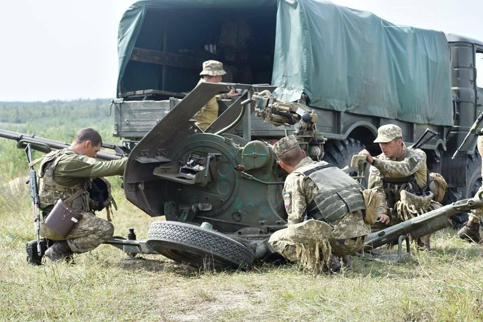 Зенітний розрахунок 25-ї бригади став переможцем змагань підрозділів протиповітряної оборони десантно-штурмових військ, фото-1