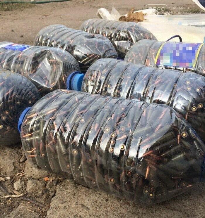 В гаражі новомосковця виявили арсенал зброї, фото-2