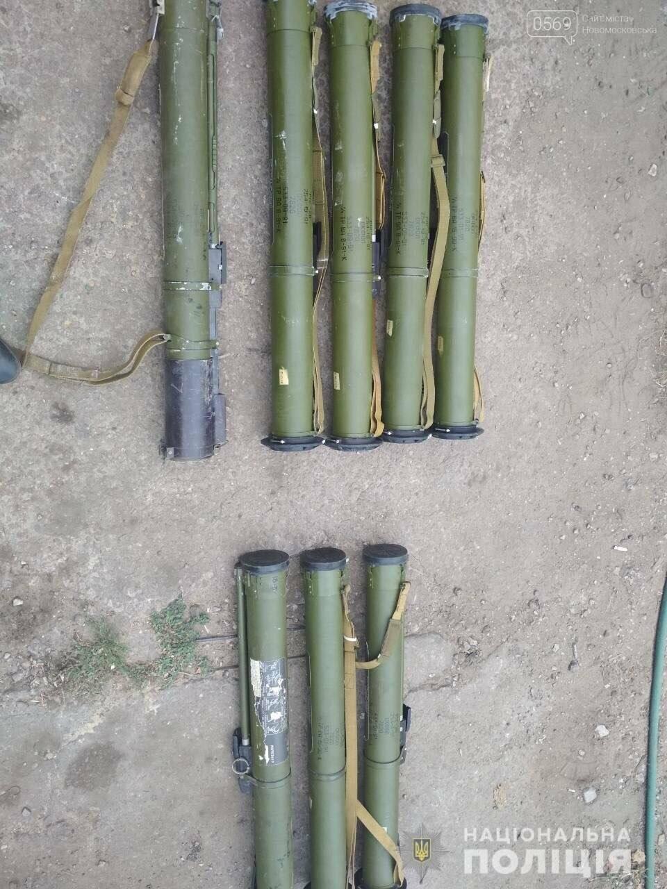 На Новомосковщині знайшли  великий склад боєприпасів, фото-3