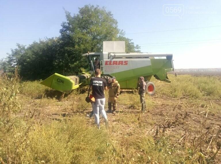 Поля агрофірми «П'ятихатська» грабує батальйон рейдерів під керівництвом зятя нардепа Берези, фото-3