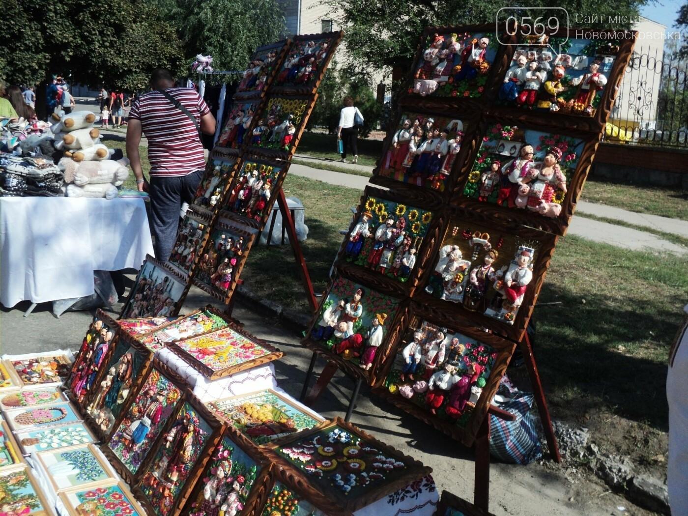 На День міста в Новомосковську працювало «містечко майстрів», фото-5