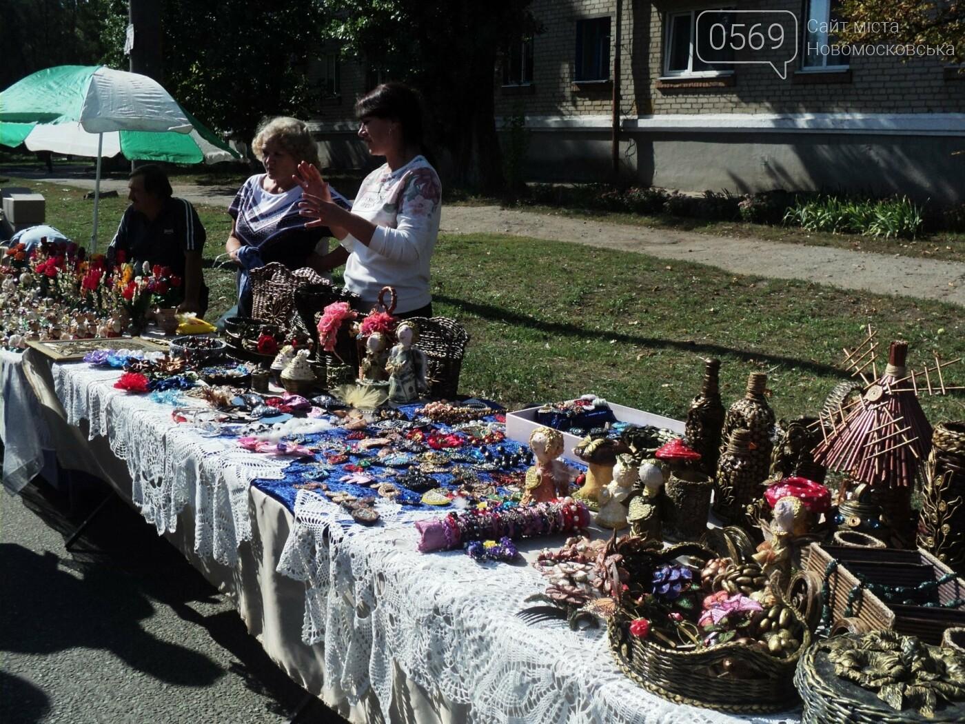 На День міста в Новомосковську працювало «містечко майстрів», фото-4