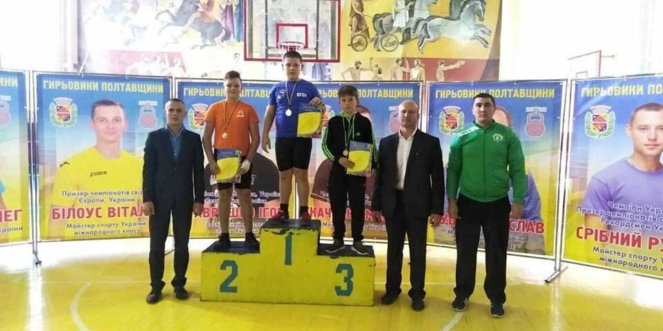 Піщанські гирьовики здобули три «золота» на чемпіонаті в Полтаві, фото-1