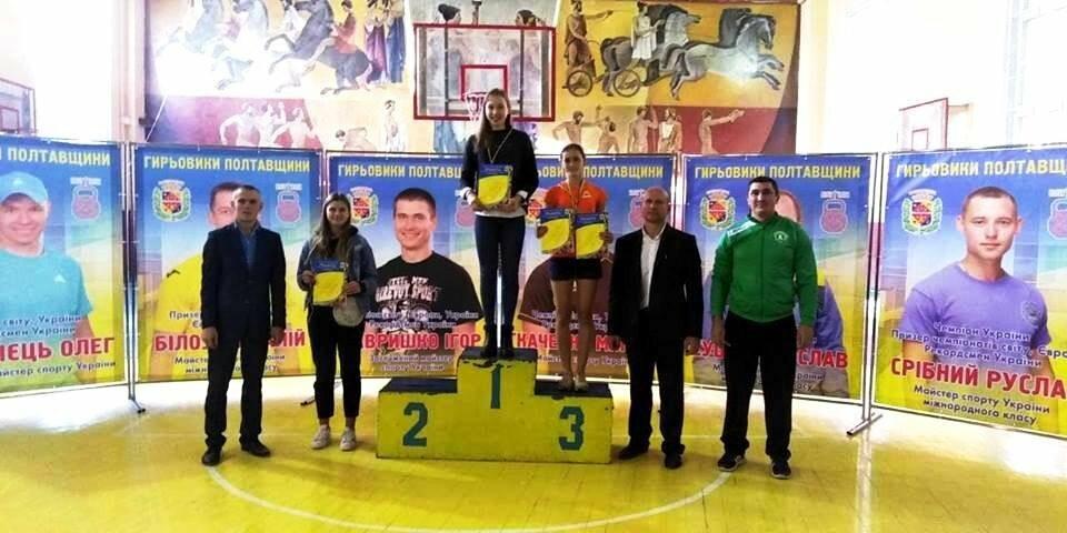 Піщанські гирьовики здобули три «золота» на чемпіонаті в Полтаві, фото-2