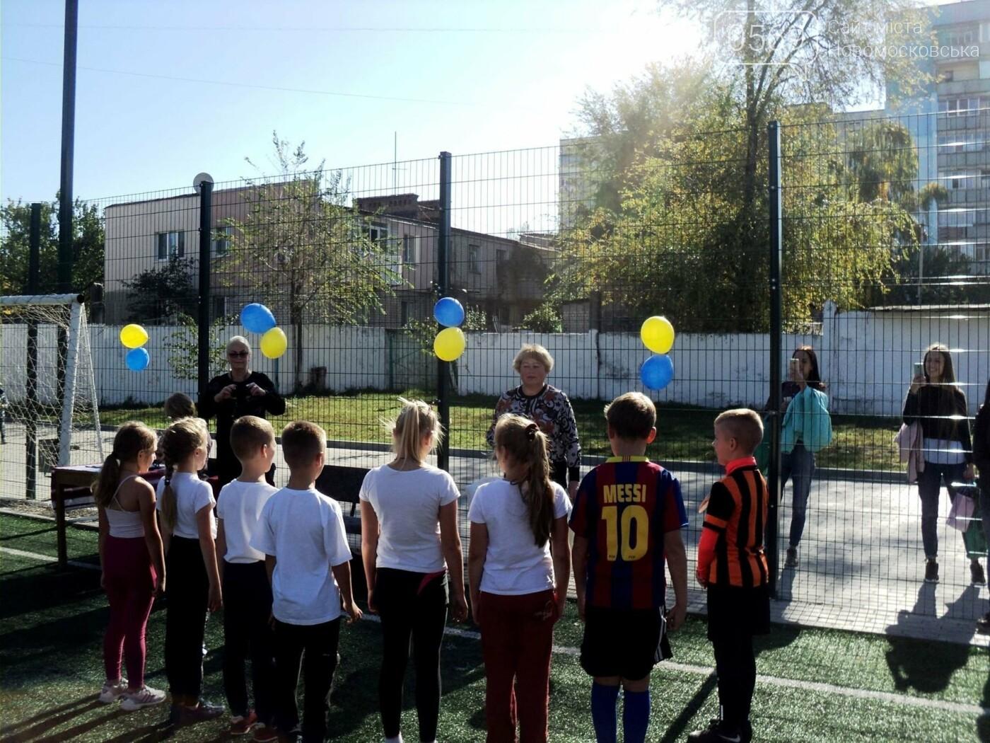 Новомосковські школярі влаштували «козацькі розваги», фото-3