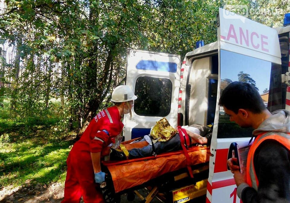 На Новомосковщині змагаються медики швидкої допомоги, фото-5
