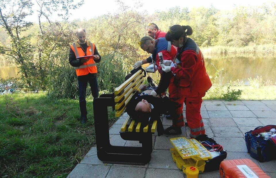 На Новомосковщині змагаються медики швидкої допомоги, фото-3