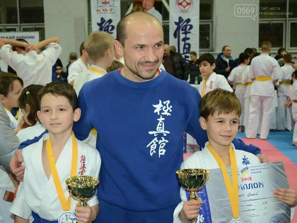 Новомосковські каратисти клубу «Русичі» взяли 3 золота на Відкритому Кубку України, фото-1