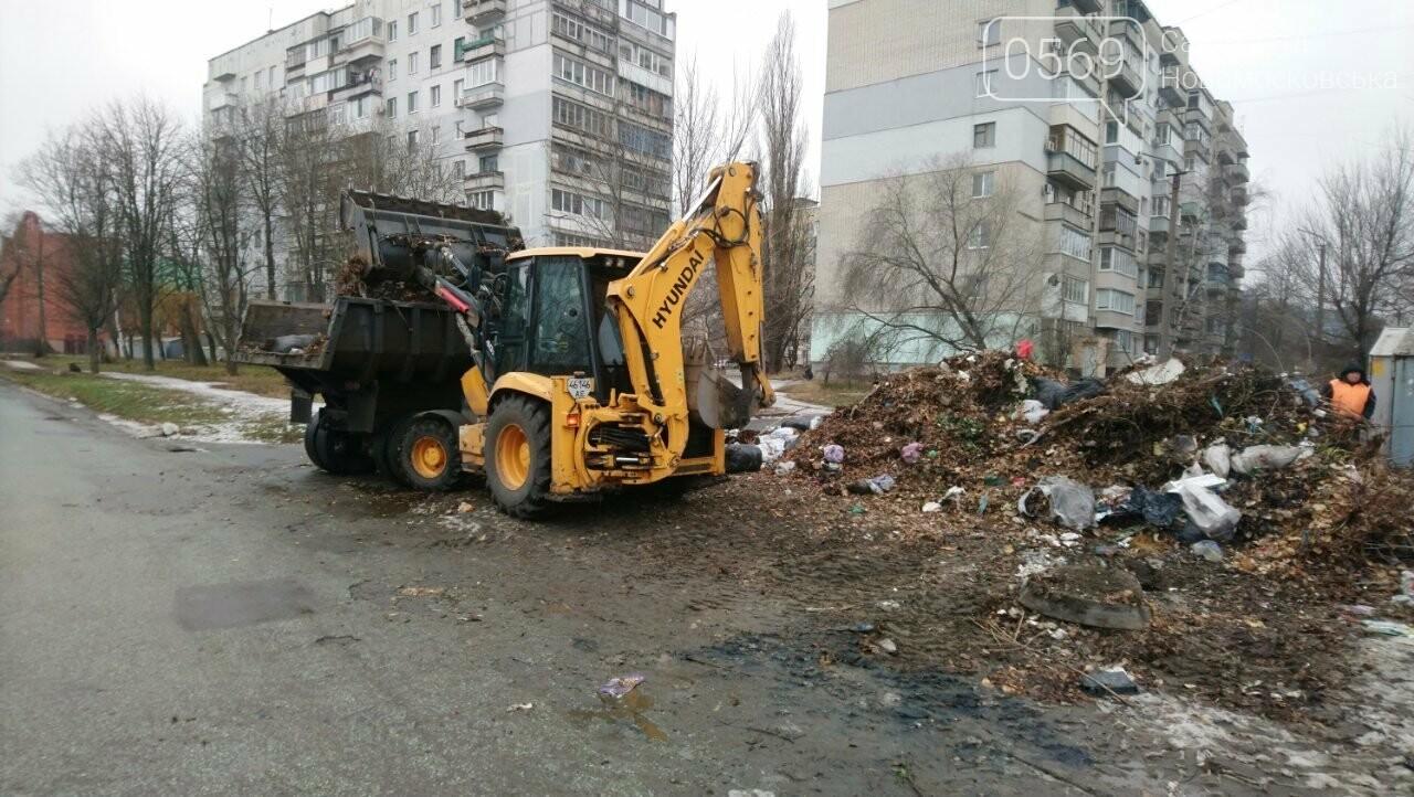 На трьох вулицях Новомосковська прибрали стихійні сміттєзвалища, фото-2