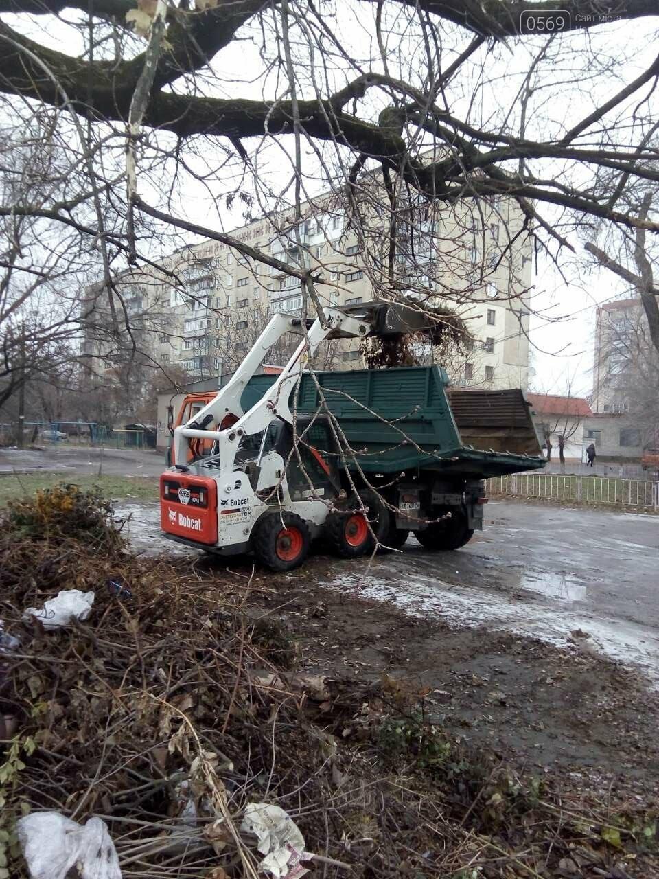 На трьох вулицях Новомосковська прибрали стихійні сміттєзвалища, фото-1