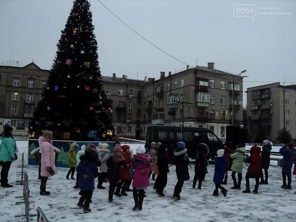 В Новомосковську урочисто відкрили новорічну ялинку, фото-1