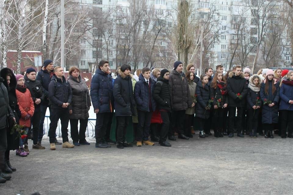 В Новомосковську вшанували пам'ять загиблого Героя України, фото-2